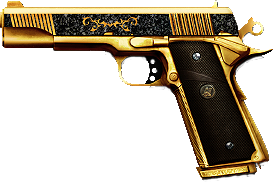m1911 knights gold2