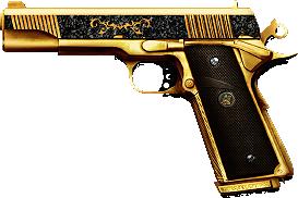 m1911 knights gold2