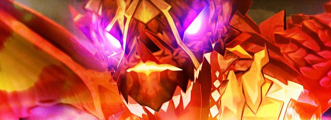 Finalmente derrote o dragão lendário na 2ª Fase de Perkisas