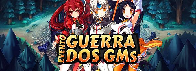 Lute ao nosso lado no evento Guerra dos GMs!