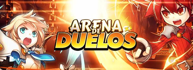 Mostre o que sabe na Arena de Duelos, o novo modo de PVP