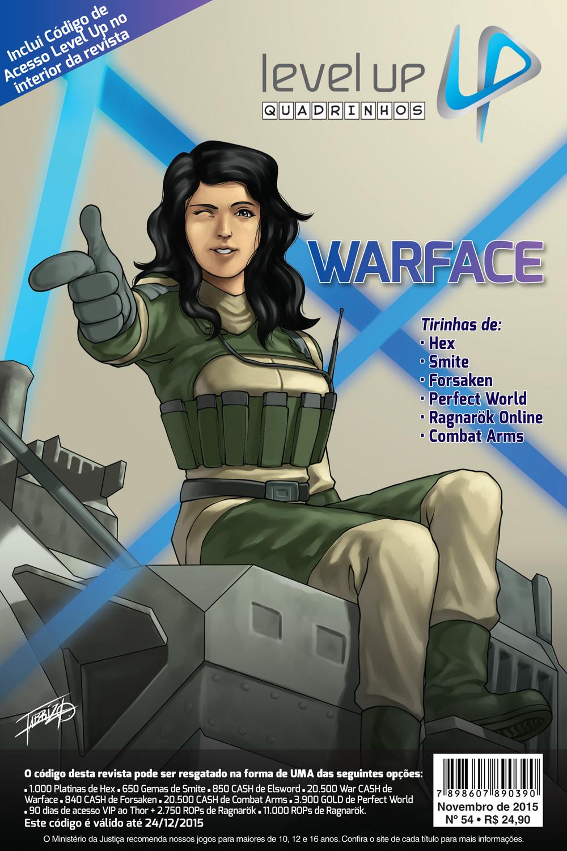 Está nas bancas a edição 54 da Revista Level Up Quadrinhos!