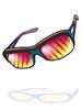 oculos julieta de quartzo rubi