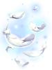 c angel fluttering