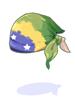 chapeu da bandeira brasileira