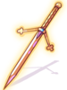 espada aprimorada de duas maos
