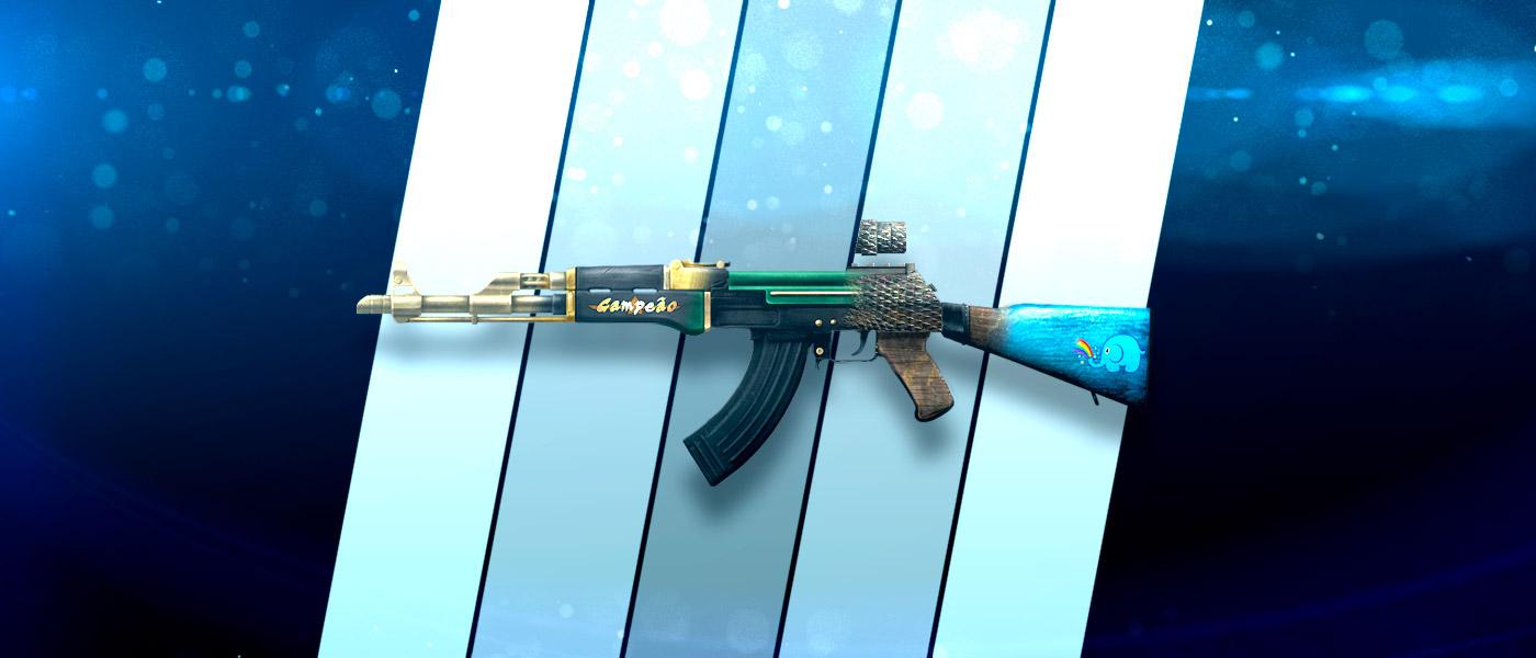 Escolhemos as 5 melhores skins de AK-47 no CA