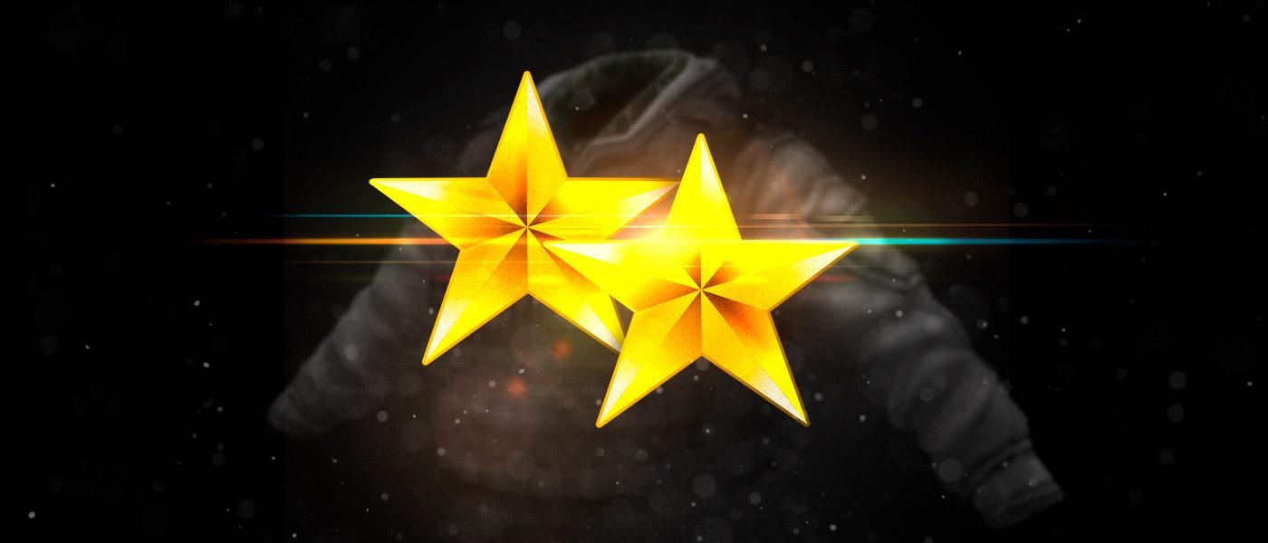 Itens de até 2 estrelas de ouro nos eventos da semana