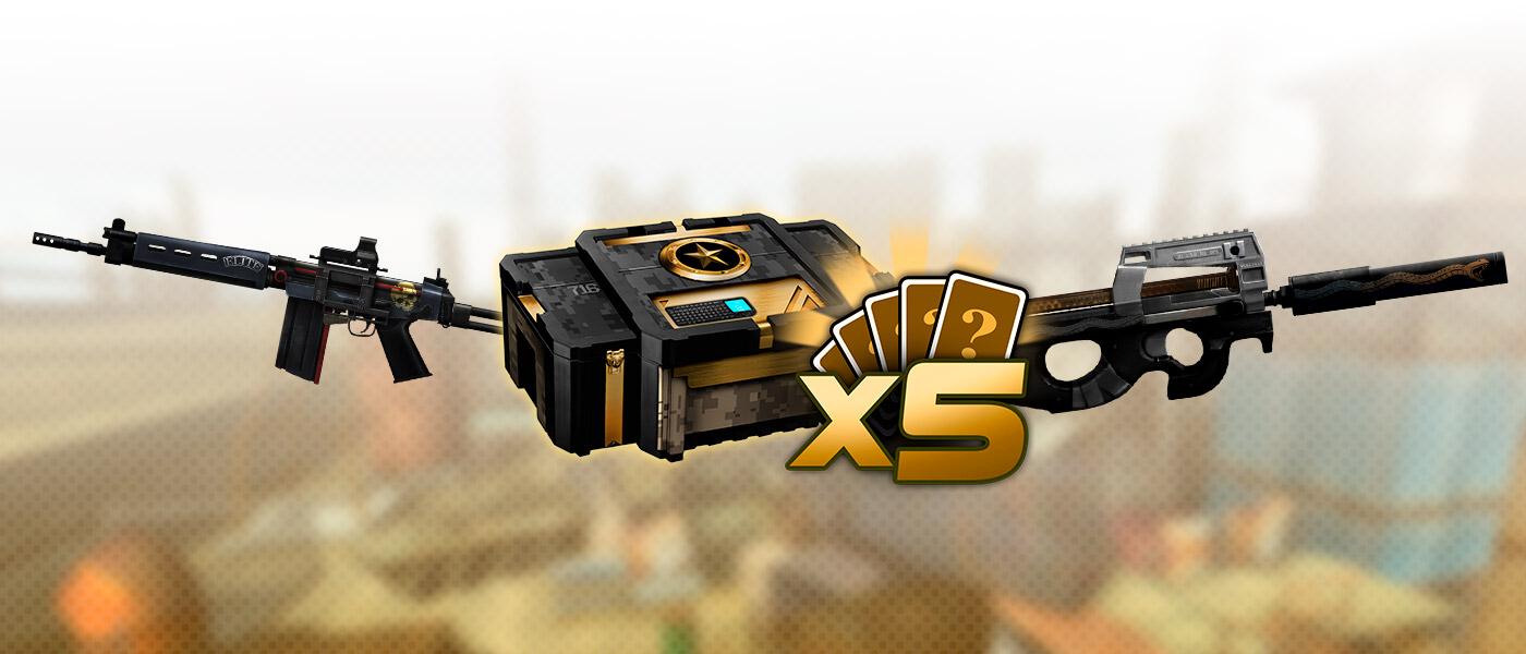 Multiplique seu arsenal com as MYSTs x5!