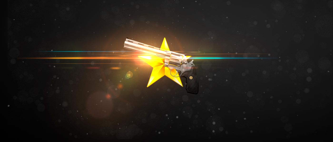 Armas de 1 Estrela de Ouro no Test Drive de Armas por GP!