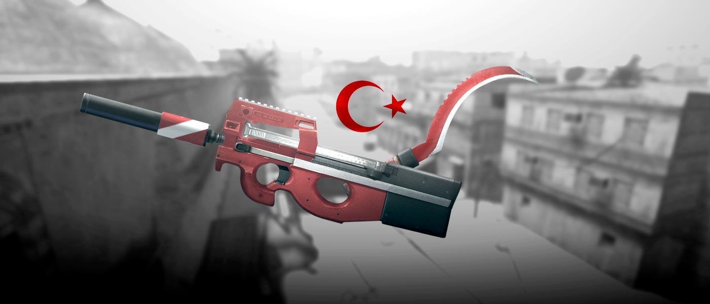 Os itens turcos dominaram os eventos!