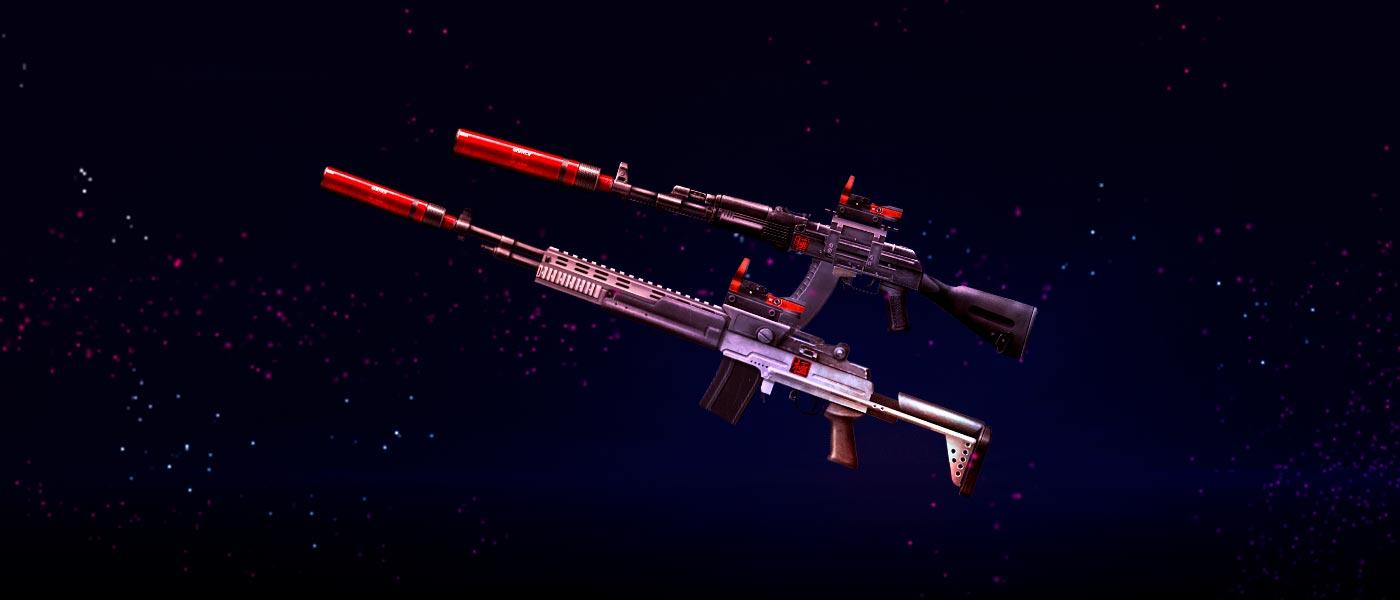 Armas Modificadas: modelos feitos pra você!