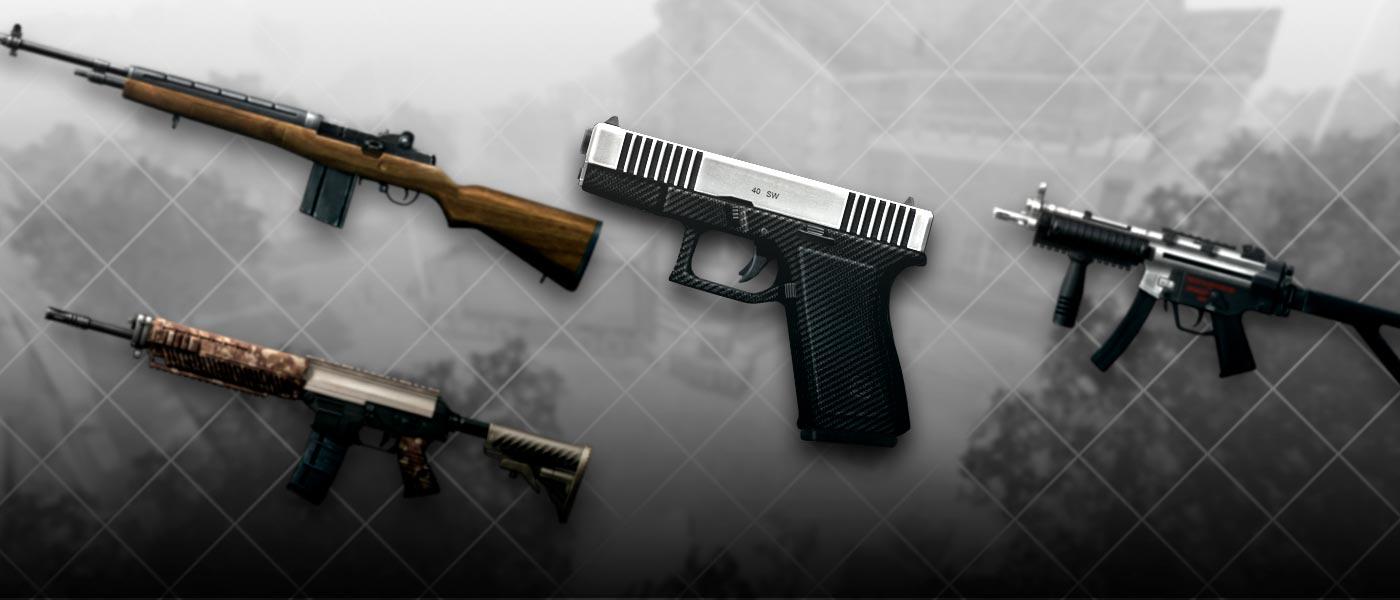 """Tenha um """"quê"""" a mais de poder com as Armas Custom"""