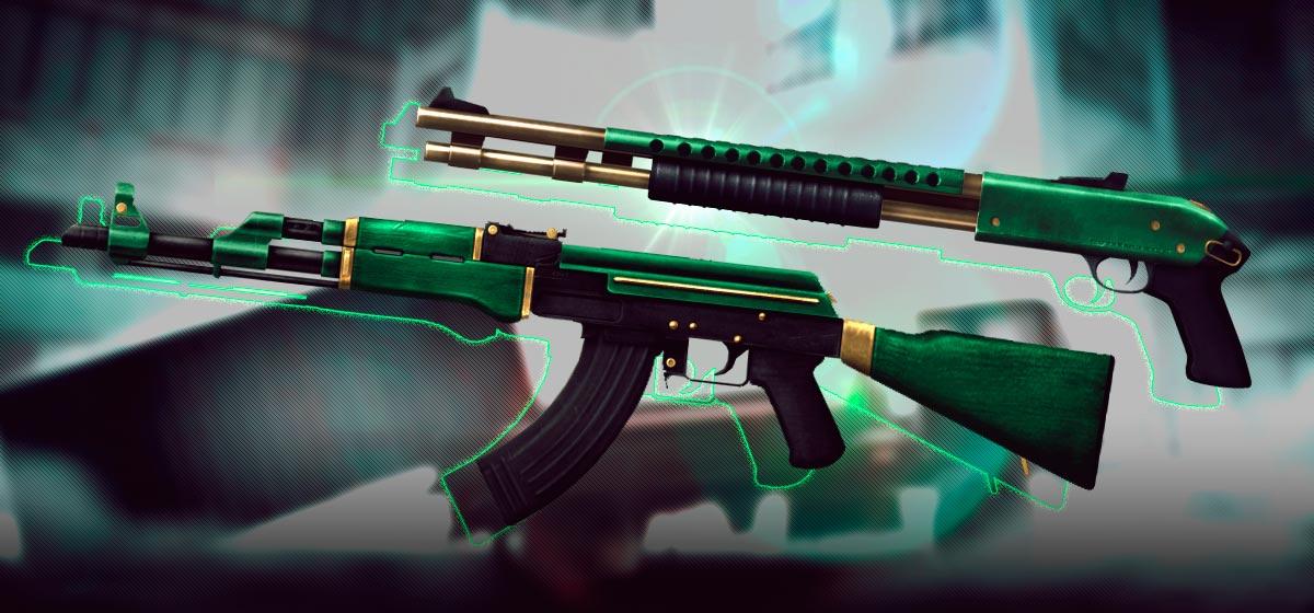 Armas First Green: confie no poder do verde!
