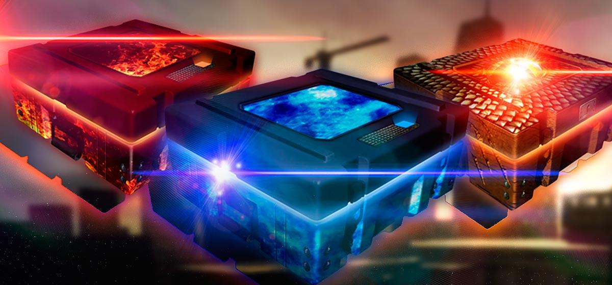 Caixas Firestorm, Blizzard e Leviathan voltaram de uma vez