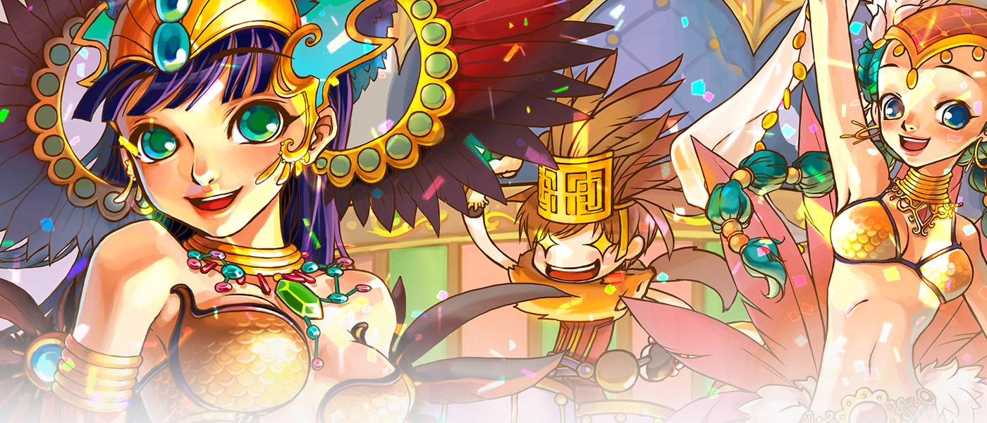 Carnaval bom é Carnaval com bônus de EXP